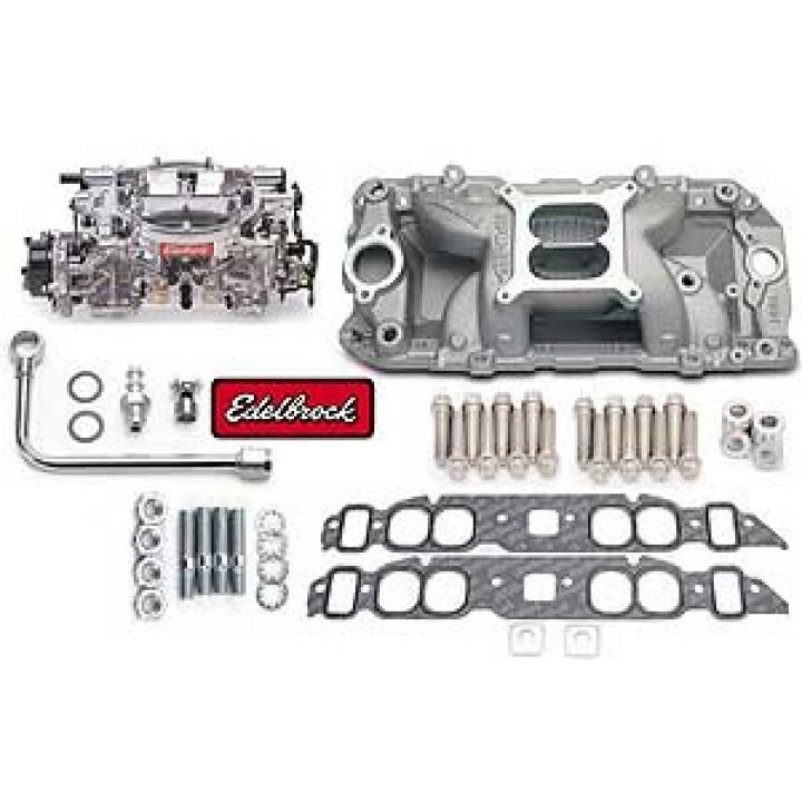 Edelbrock 2063 - Performer RPM Air-Gap Intake Manifold and Carburetor Kits