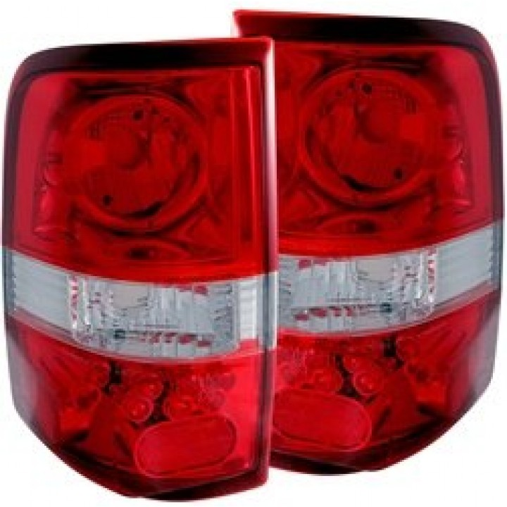 Anzo Red & Clear LED Tail Light