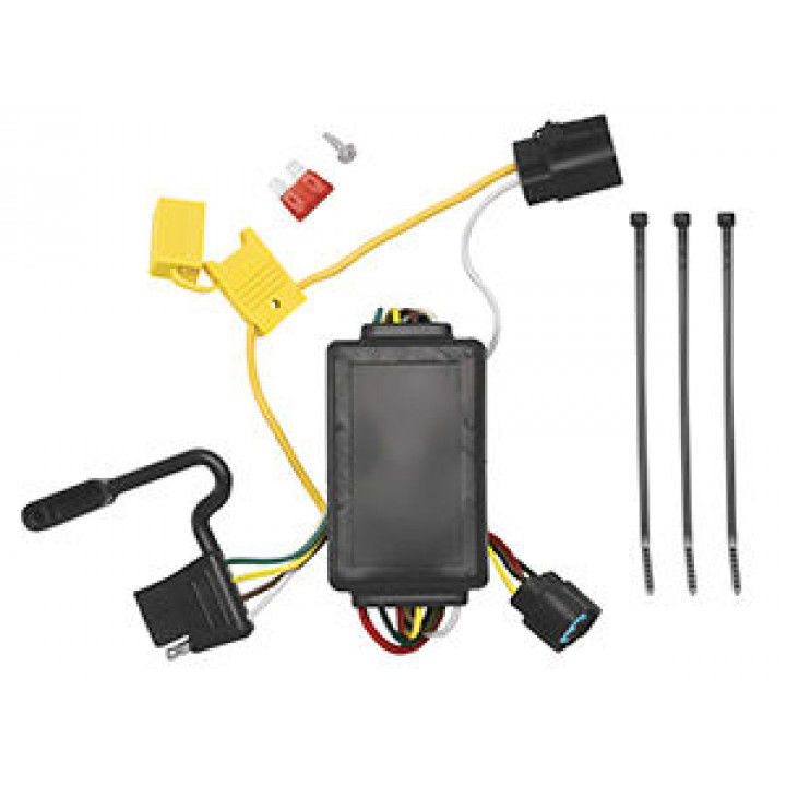free shipping to canada and usa for tow ready 118258 replacement tow ready wiring harness tow ready 118258 replacement oem tow package wiring harness (4 flat) w circuit protected modulite module Tow Ready Wiring Harness