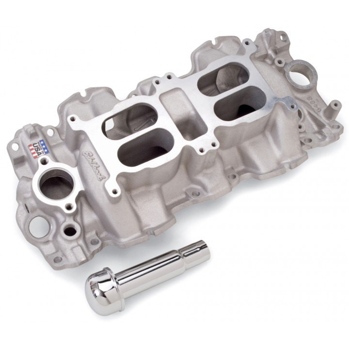 Edelbrock 5409 - Performer RPM Dual-Quad Air-Gap Intake Manifolds