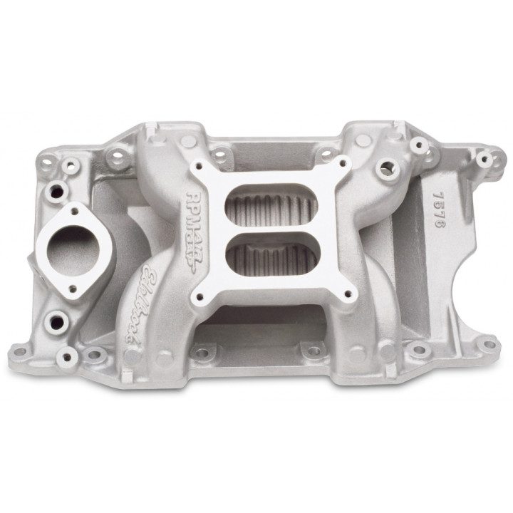 Edelbrock 7576 - Performer RPM Air-Gap Intake Manifolds