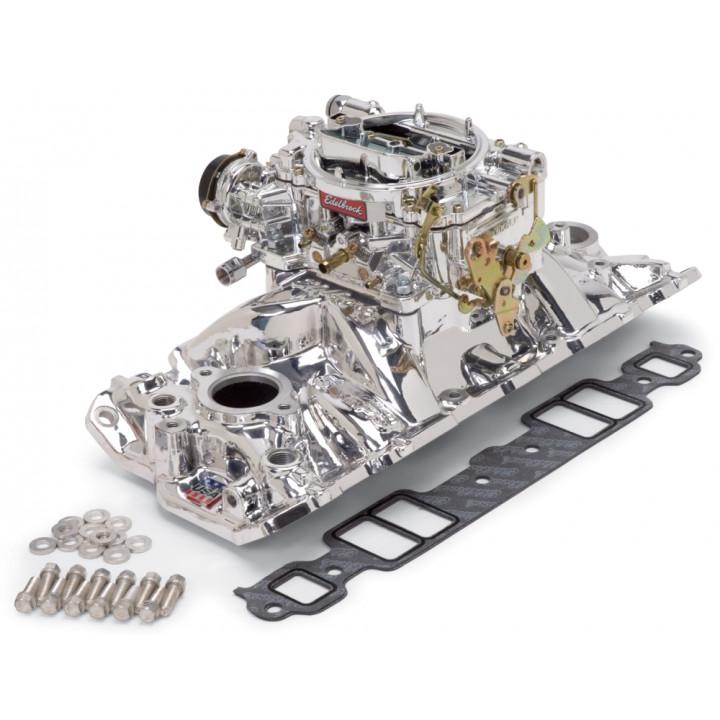 Edelbrock 2004 - Performer Air-Gap Intake Manifold and Carburetor Kits