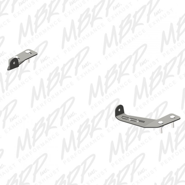 MBRP Auxiliary Light Mount Bracket