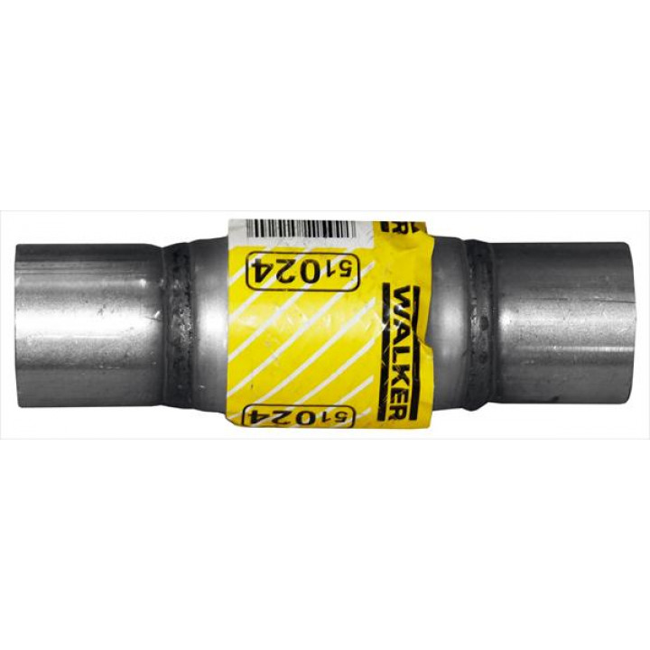 """DynoMax 51024 - Flex Connector w/Bushings 2"""" ID Inlet Outlet x 8 1/2"""" OAL"""