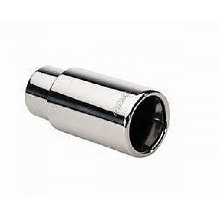 "Gibson 500632 - Polished Stainless Steel Exhaust Tip - 2.5"" Inlet/3.5"" Outlet - 3.5"" Length"
