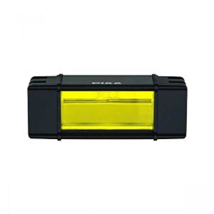 "PIAA 12-07206 - RF Series 6"" LED Light Bar Yellow Fog Beam Single, SAE Compliant"