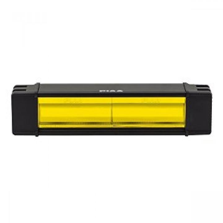 "PIAA 12-07210 - RF Series 10"" LED Light Bar Yellow Fog Beam Single, SAE Compliant"