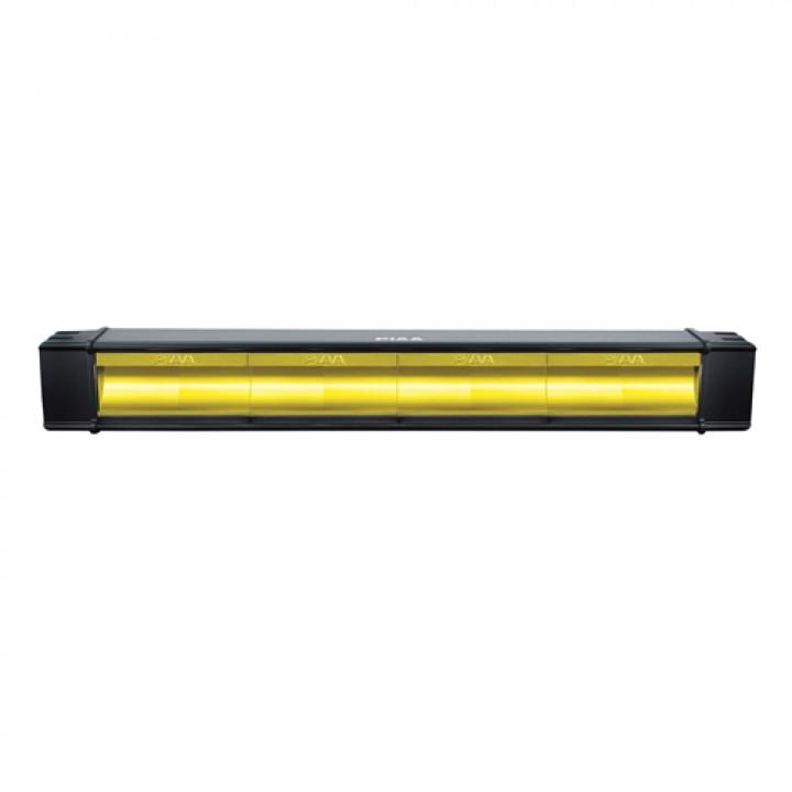 "PIAA 12-07218 - RF Series 18"" LED Light Bar Yellow Fog Beam Single"