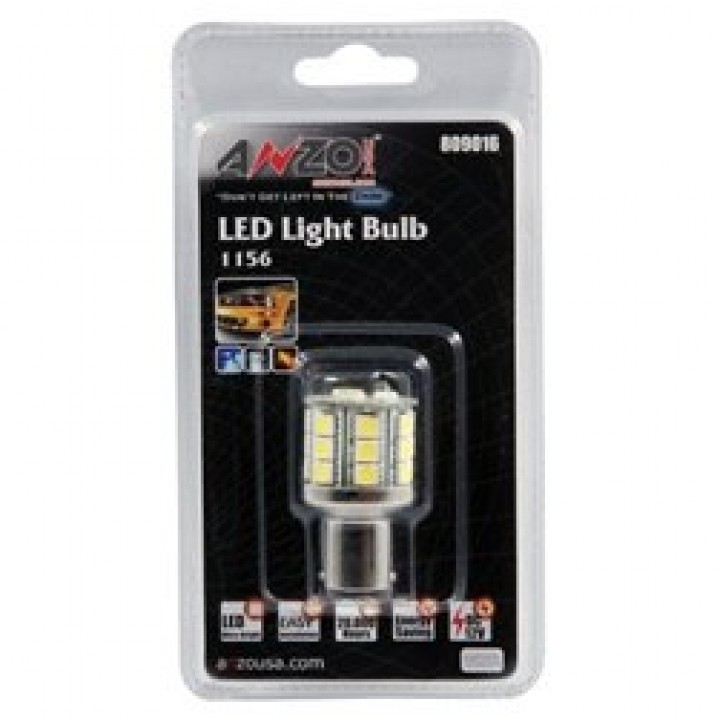 Anzo 809016 - LED Replacement Bulb - LED 1156 White-23 LEDs 1 3/4 in. Tall