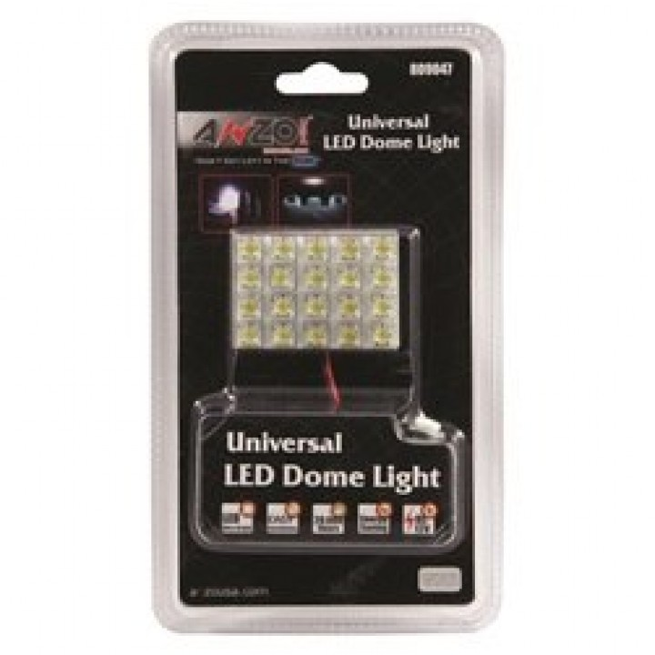 Anzo 809047 - LED Replacement Bulb - Dome Light - Hi Powered LED Universal 2 in. X 1.5 in.