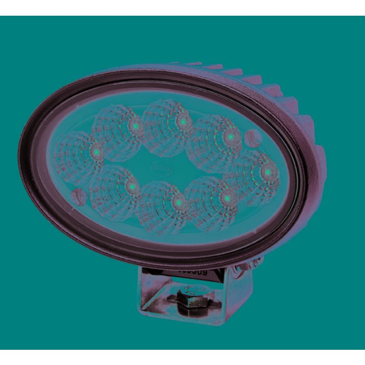 HELLA 996761001 - Oval 100 LED Gen II Work Lamp - Close Range