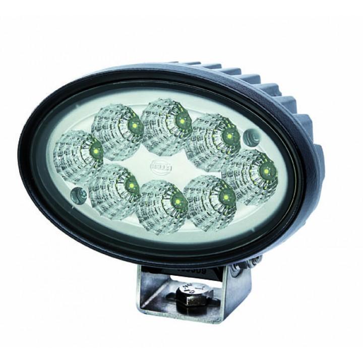 HELLA 996761011 - Oval 100 LED Gen II Work Lamp - Long Range