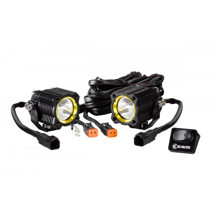 KC HiLiTES 270 - KC Flex - LED Single Spot System 10w (pair)