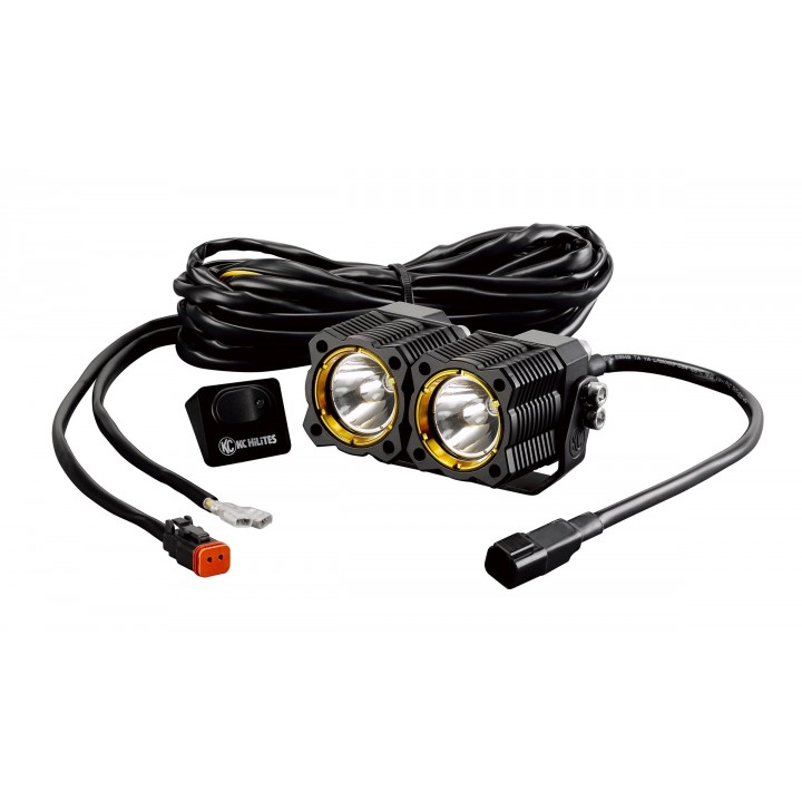 KC HiLiTES 271 - KC Flex - LED Dual Spot System 20w (each)