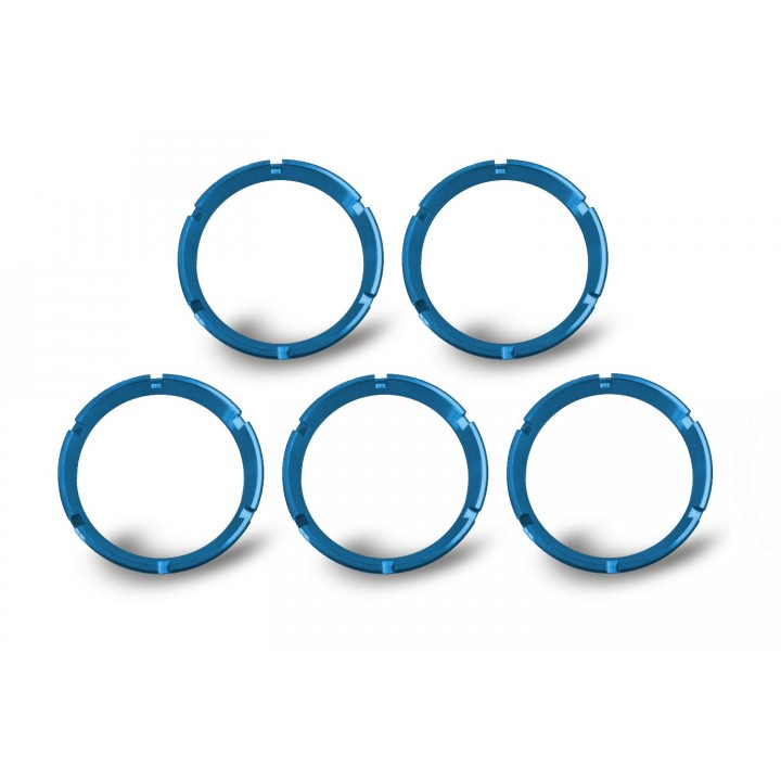 KC HiLiTES 30563 - KC Flex - Bezel Ring Blue (set of 5)