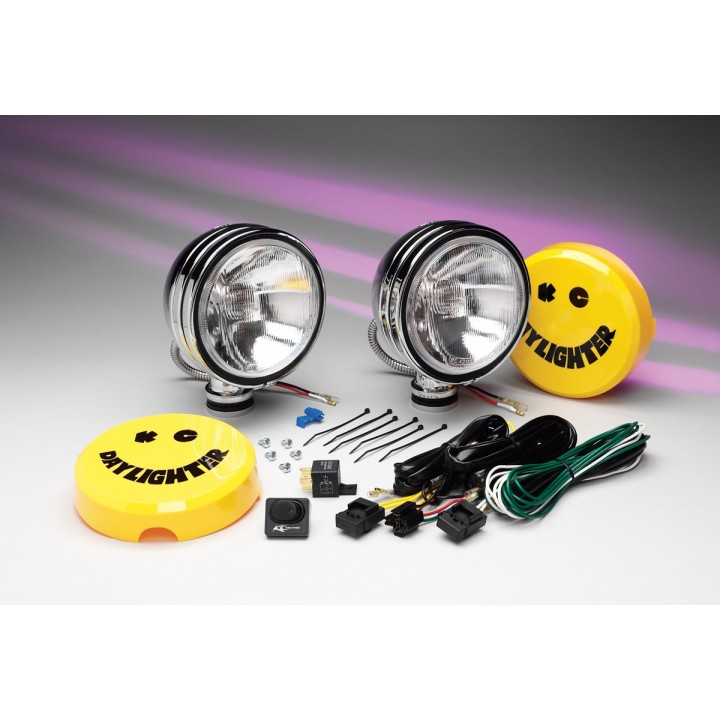 KC HiLiTES 633 - Daylighter - Driving Chrome 130w (pair)