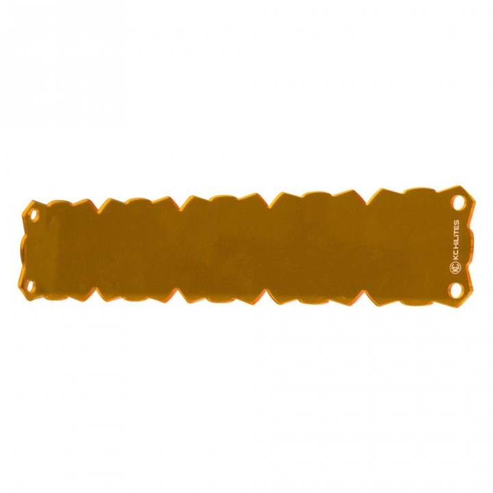 "KC HiLiTES 72088 - KC Flex 10"" Amber Shield (each)"