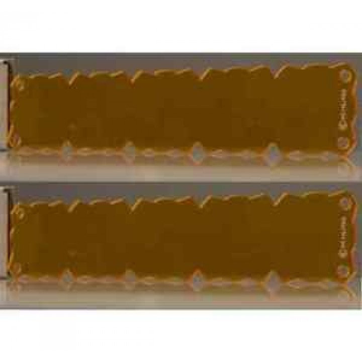 "KC HiLiTES 72094 - KC Flex 30"" Amber Shield (set)"