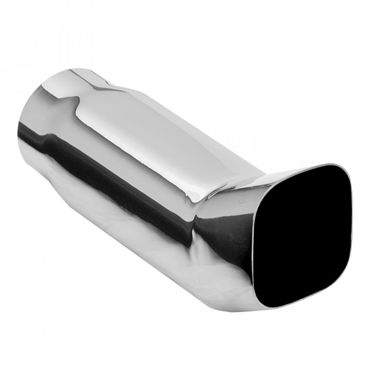 "Magnaflow 35135 - Universal Exhaust Tip - 2.25"" ID Inlet - 3"" Square - 8.5"" Long"