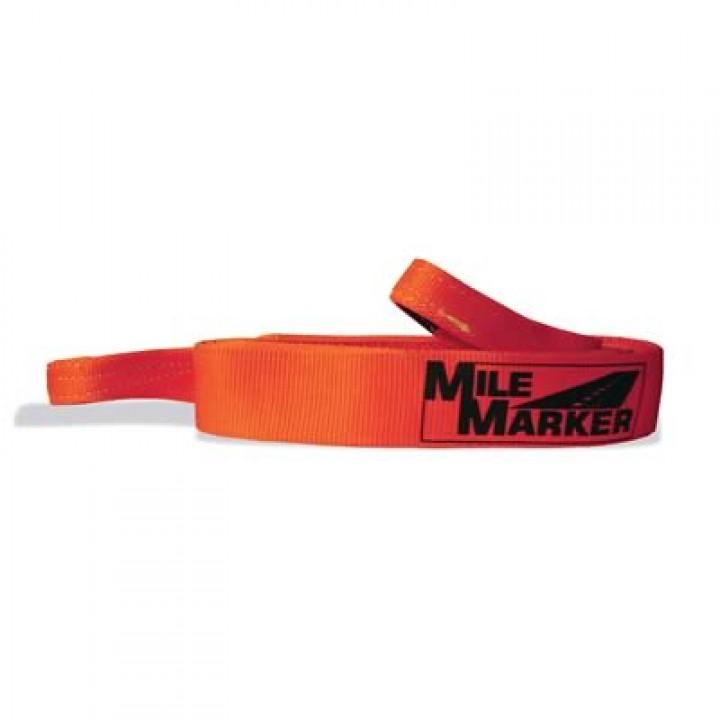 Mile Marker 19-50041 - Tow/Tree Strap - 3 in. x 15 ft. - Orange