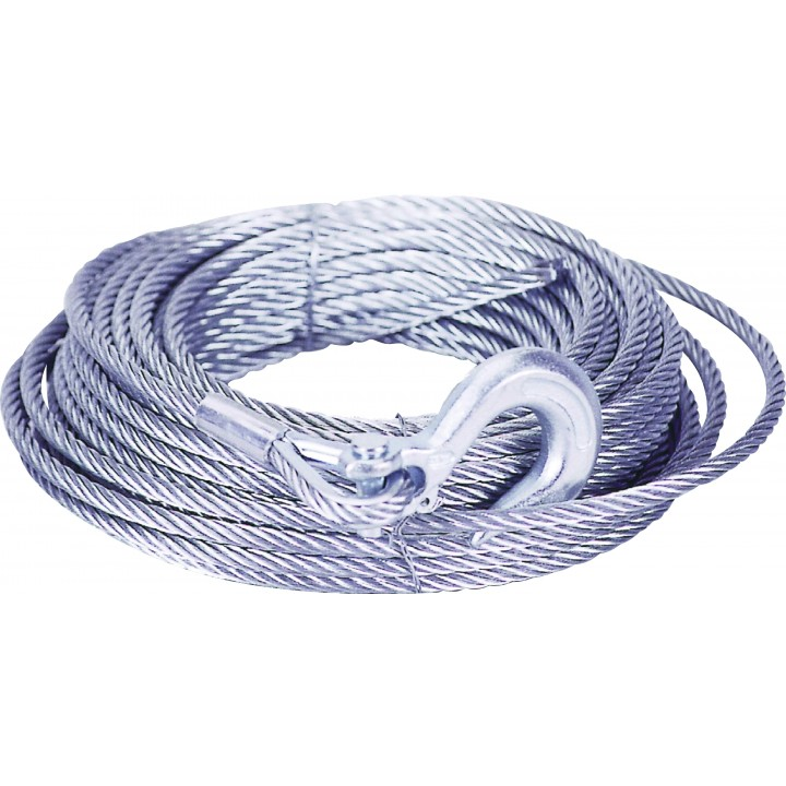 Mile Marker 19-50250-80 - Winch Cable - 0.25 in. x 80 ft.