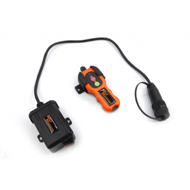 Mile Marker 7077 - Plug And Play Wireless Winch Remote - For Use With Hydrauilc Winches