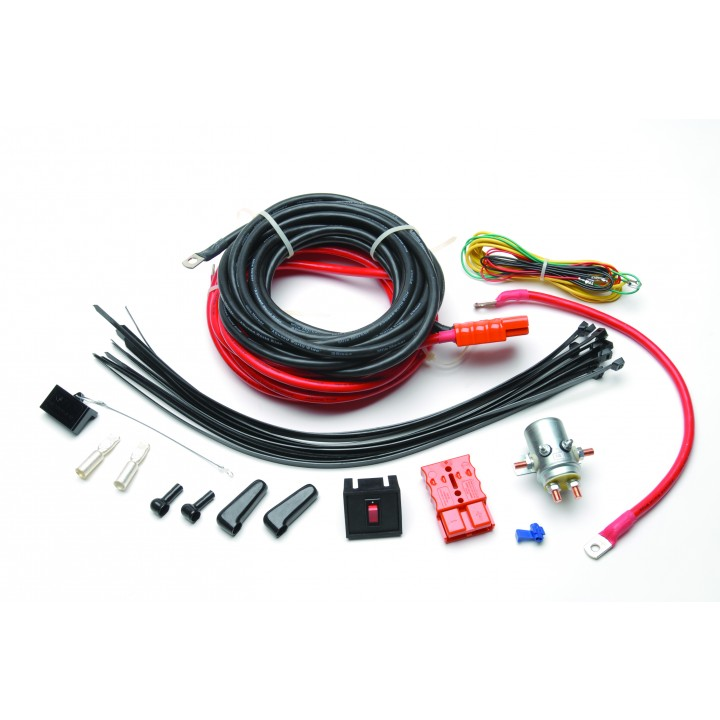 Mile Marker 76-93-53000 - Quick Winch Disconnect Kit - Rear Mount - Incl. Two 20 ft. Hoses And Adapters - For Electric Winches On A Receiver-Type Hookup