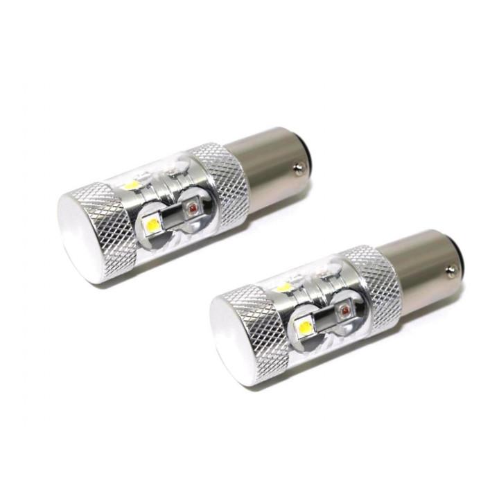 Putco 241157S-360 - SwitchBack Plasma LED Bulbs - 1157 - White/Amber