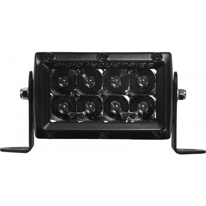 Rigid Industries 104212BLK - E-Series Midnight Optic Spot Light - (Surface Mount) - (4 in.) - (Single)