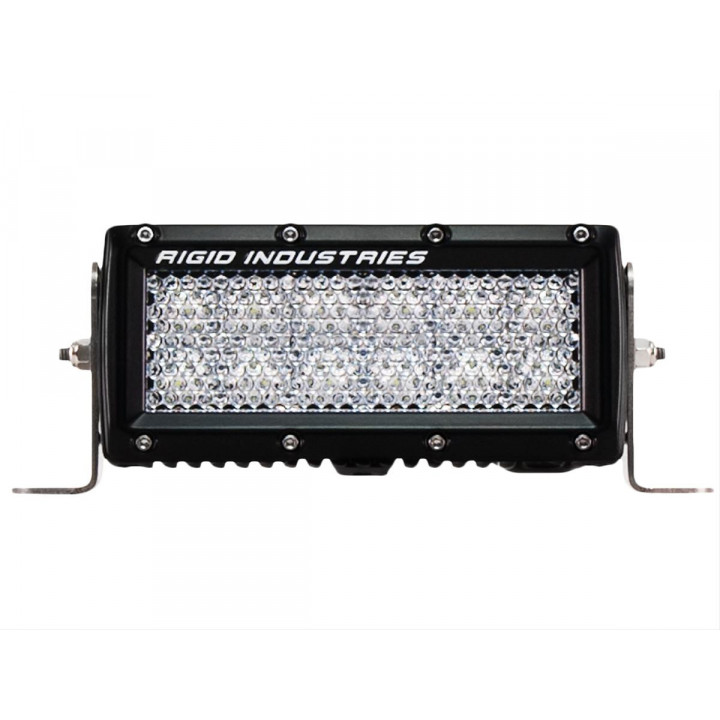 Rigid Industries 106512 - E-Series 60 Deg. Diffusion LED Light - (Surface Mount) - (6 in.) - (Single)
