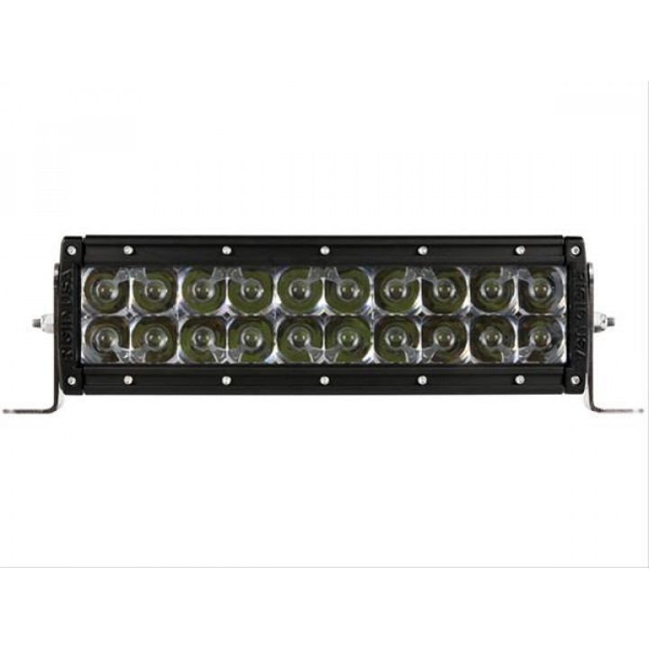 Rigid Industries 110212E - E-Series LED Light Bar - (Custom) - (Surface Mount) - (10 in.) - (For Use w/PN[40568/40569])
