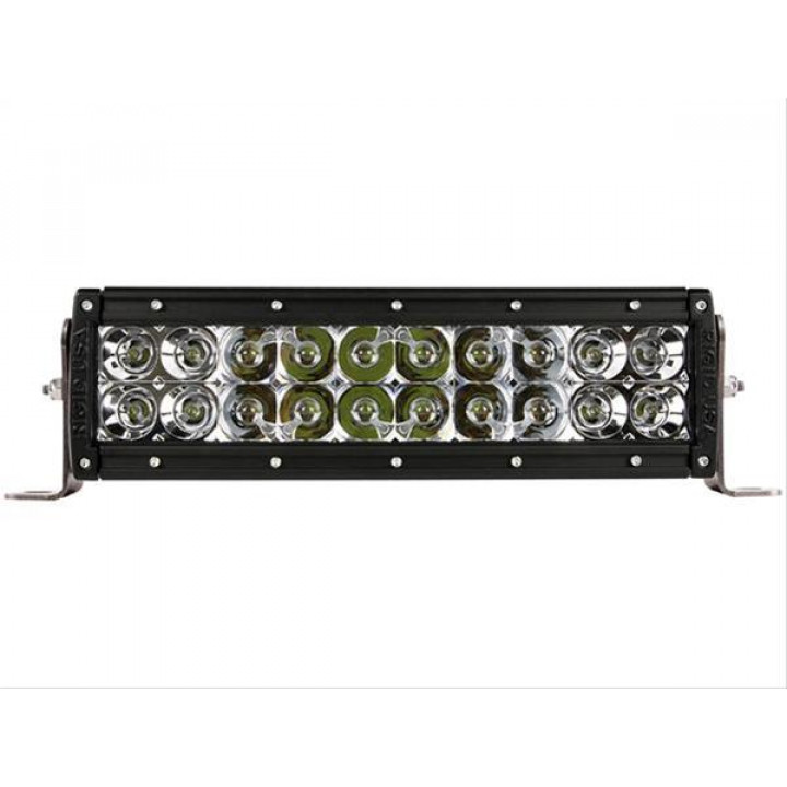 Rigid Industries 110312E - E-Series LED Light Bar - (Custom) - (Surface Mount) - (10 in.) - (For Use w/PN[40568/40569])