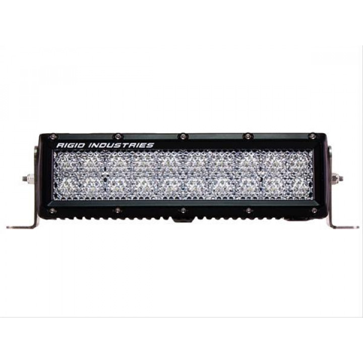 Rigid Industries 110512 - E-Series LED Light Bar - (Surface Mount) - (10 in.) - 60 Deg. Diffused