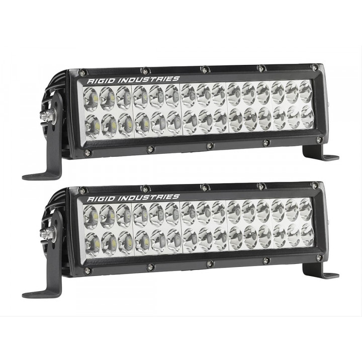 Rigid Industries 17961EM - E-Series E-Mark Certified Driving Light - (10 in.) - (Pair)