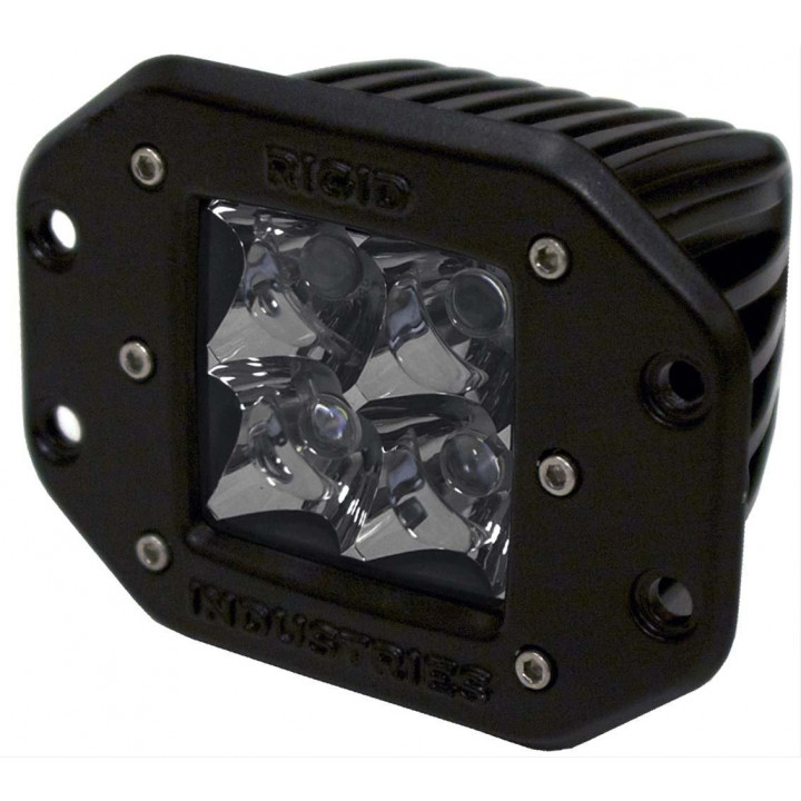 Rigid Industries 21121 - Dually - Flush Mount - Spot - Single
