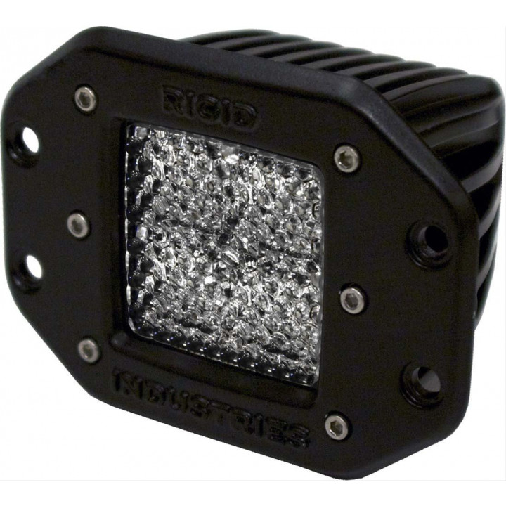 Rigid Industries 21151 - Dually - Flush Mount - 60 Deg. Lens - Single