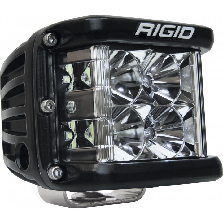 Rigid Industries 26111 - Dually Side Shooter LED Flood Light Cube - (Surface Mount) - (Black Housing) - (Each)