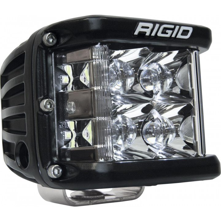 Rigid Industries 26121 - Dually Side Shooter LED Spot Light Cube - (Surface Mount) - (Black Housing) - (Each)