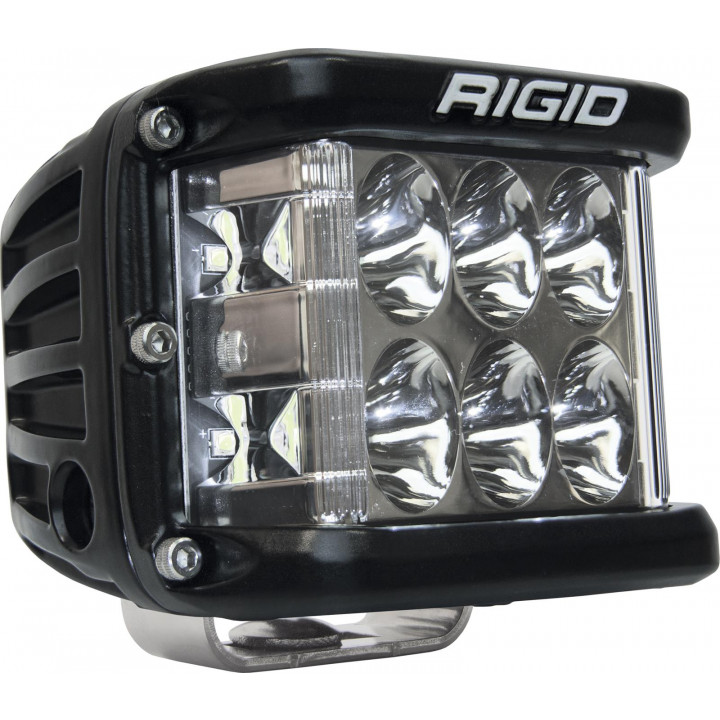Rigid Industries 26131 - Dually Side Shooter LED Driving Light Cube - (Surface Mount) - (Black Housing) - (Each)