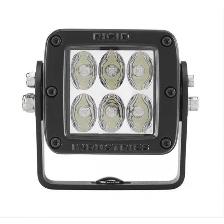 Rigid Industries 52131MIL - D2-Series LED Light - HD - (Drive) - (Black) - (MILSTD461F) - (Single)