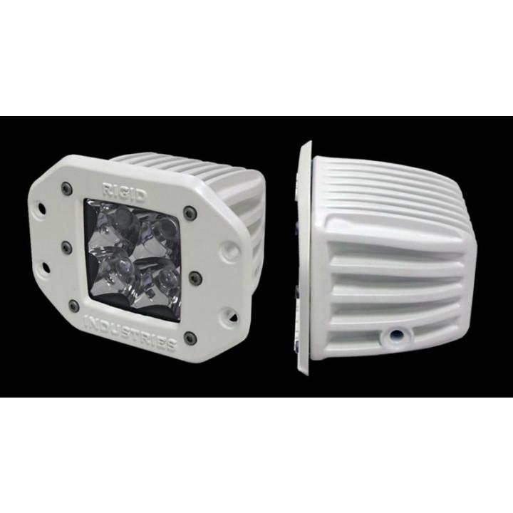 Rigid Industries 61111 - M-Series - Flush Mount - Dually - Flood - Single