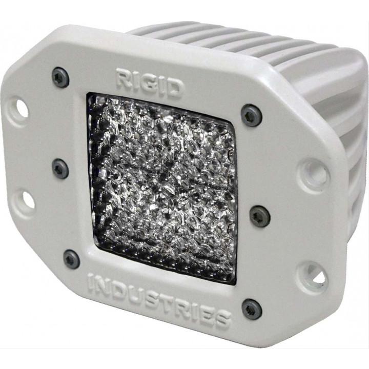 Rigid Industries 61151 - M-Series - Flush Mount - Dually - 60 Deg. Lens - Single