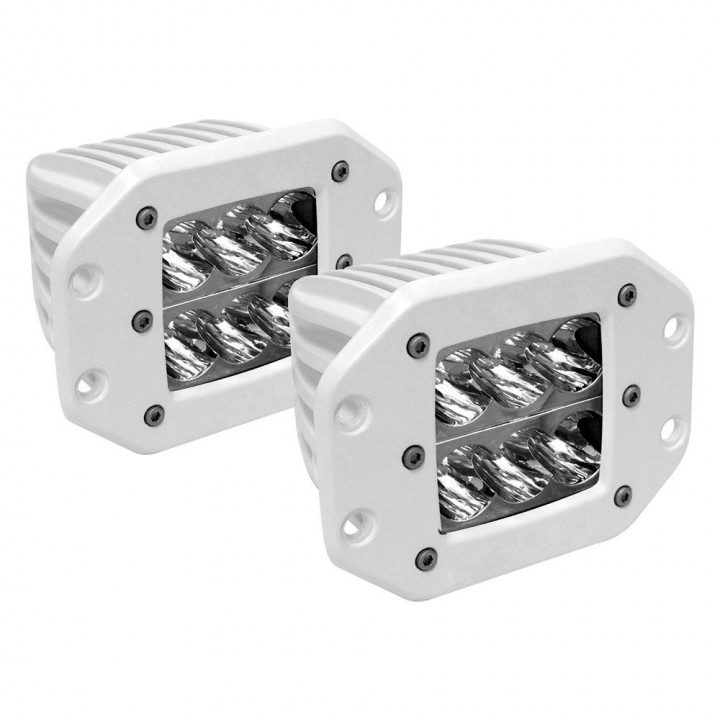 Rigid Industries 71211 - M-Series - Flush Mount - D2 - Wide - Set of 2