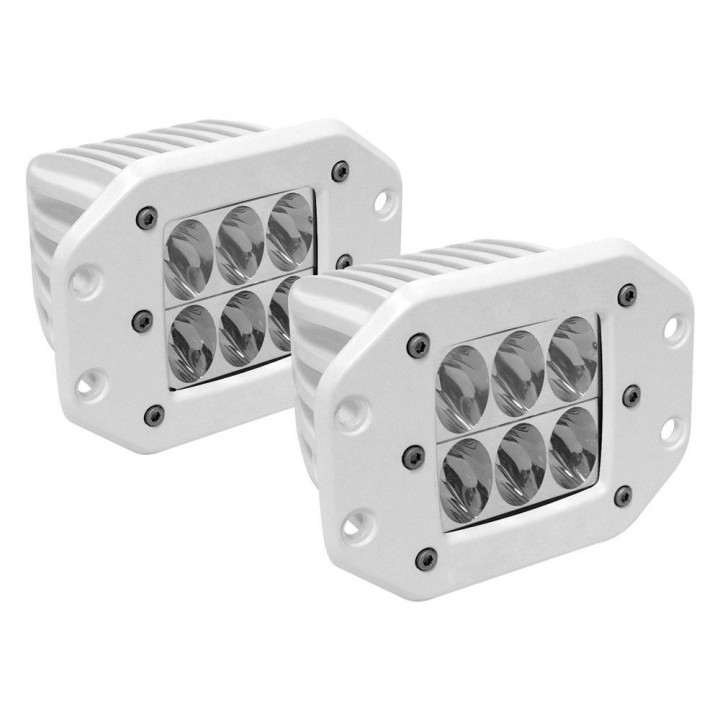 Rigid Industries 71231 - M-Series - Flush Mount - D2 - Driving - Set of 2