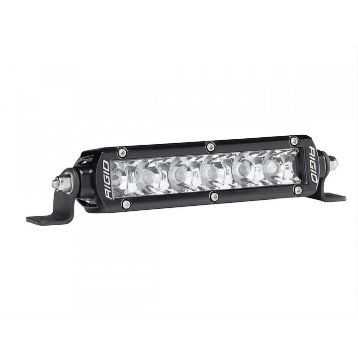 Rigid Industries 906212 - SR-Series Single Row 10 Deg. Spot LED Light - (Surface Mount) - (6 in.) - (2 Piece)