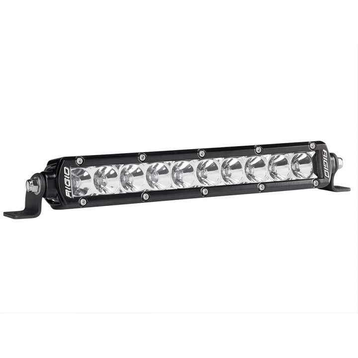 Rigid Industries 910112 - SR-Series Single Row 20 Deg. Flood LED Light - (Surface Mount) - (10 in.) - (2 Piece)