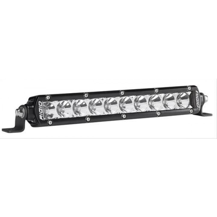 Rigid Industries 910122 - SR-Series Single Row 20 Deg. Flood LED Light - (Surface Mount) - (10 in.) - (2 Piece)