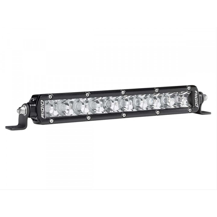 Rigid Industries 910212 - SR-Series Single Row 10 Deg. Spot LED Light - (Surface Mount) - 10 in. - (2 Piece)