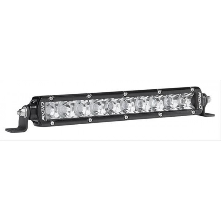 Rigid Industries 910222 - SR-Series Single Row 10 Deg. Spot LED Light - (Surface Mount) - (10 in.) - (2 Piece)