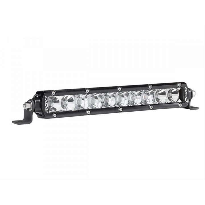 Rigid Industries 910312 - SR-Series Single Row 10 Deg. Spot/20 Deg. Flood Combo LED Light - (Surface Mount) - (10 in.) - (2 Piece)